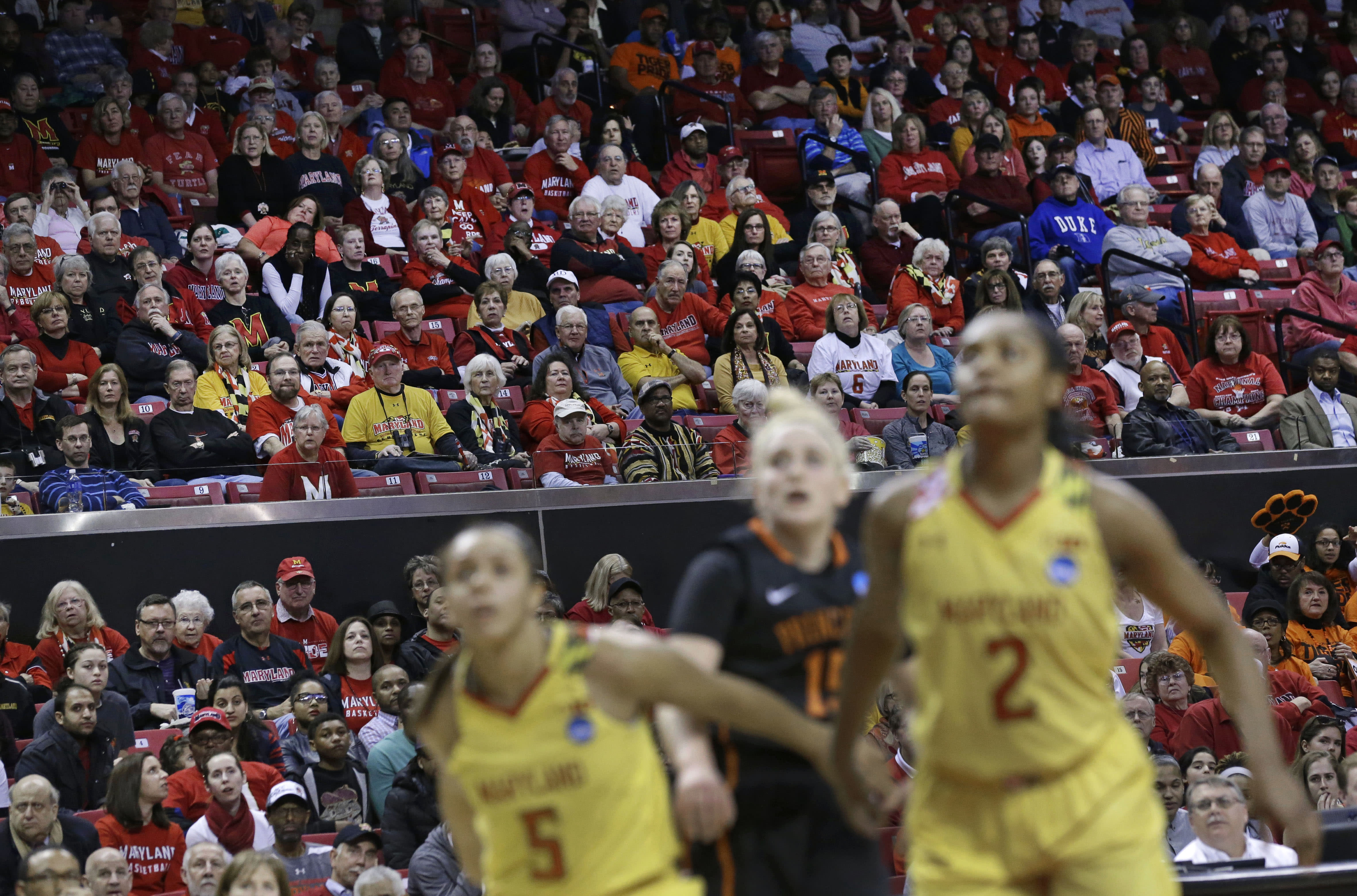 Women's NCAA Tournament attendance up in some locations