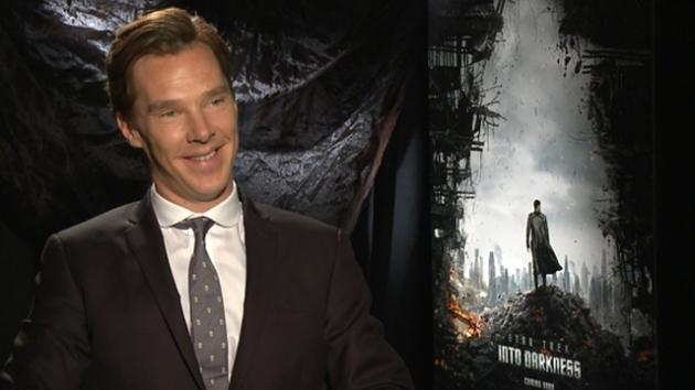 Benedict Cumberbatch speaks with Access Hollywood about 'Star Trek Into Darkness' -- Access Hollywood