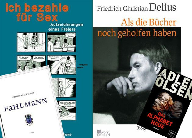 Delius, Ecker, Brown und Adler-Olsen: Denis Schecks B&#xfc;cher des Monats.
