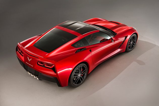 This undated product image provided by General Motors shows the all-new 2014 Chevrolet Corvette Stingray. General Motors unveiled the revamped Corvette, the first new version of the iconic sports car