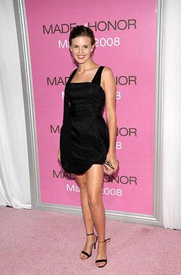 Maggie Grace at the New York City premiere of Columbia Pictures' Made of Honor