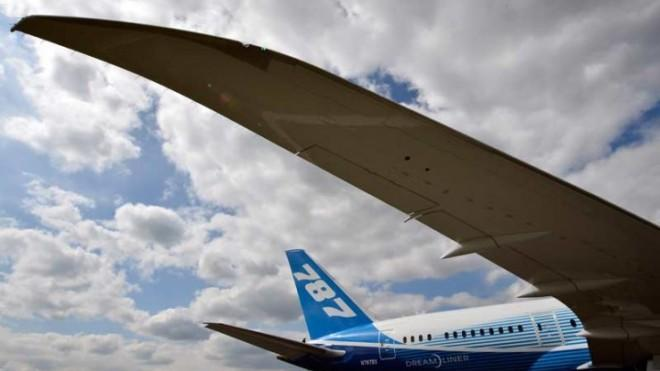Japanese companies produced the parts that comprise roughly 35 percent of the average 787 Dreamliner.