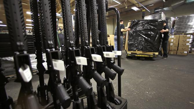 Conn. gun-maker declares intention to leave state