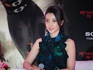 "Li Bingbing talks ""Retribution"""