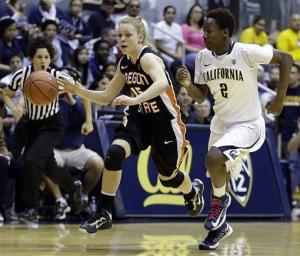 No. 6 California women rally to edge Oregon State