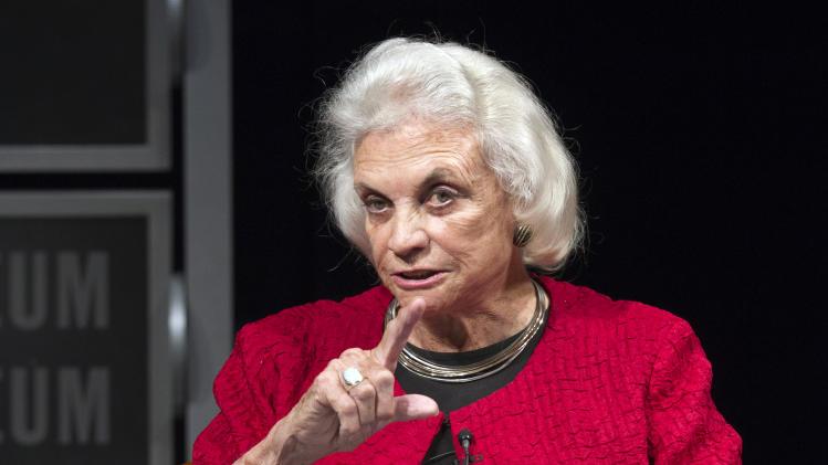 Sandra Day O'Connor steps carefully in NY gun case