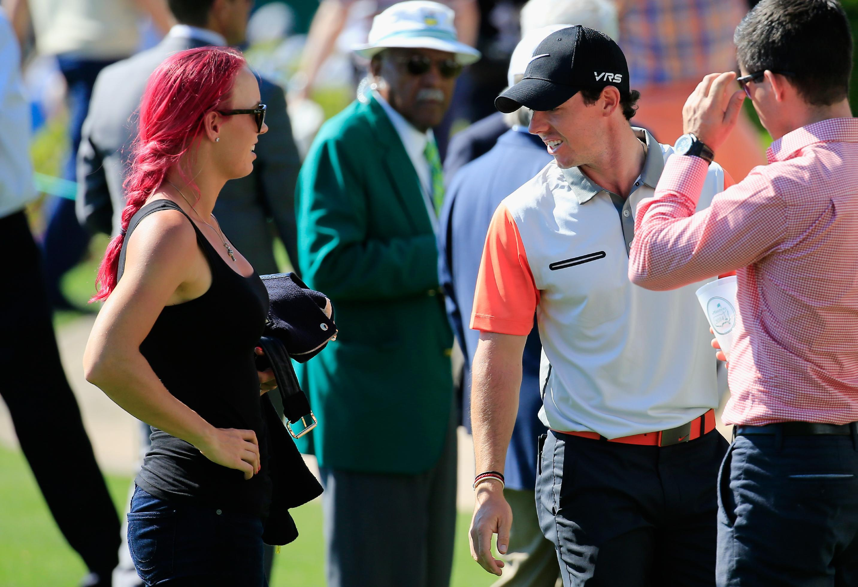 Golf/Tennis - McIlroy reminded of 'Sweet Caroline' at rugby match