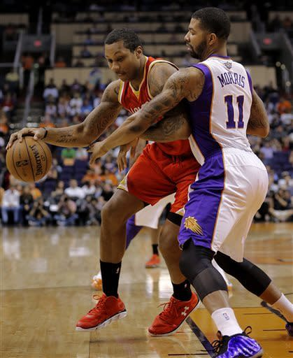 Suns snap record home skid with win over Rockets
