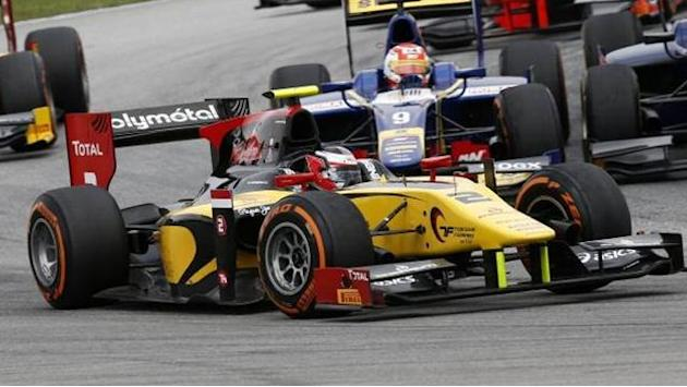 GP2 - Richelmi grabs maiden GP2 pole
