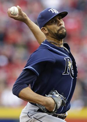 Price pitches into 9th, Rays beat Reds 2-1
