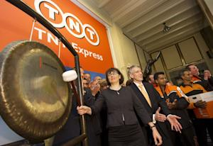 CEO of TNT Express Marie-Christine Lombard beats the …