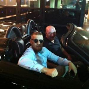 Conor McGregor recalls Vegas strip joy ride in UFC president Dana White's Ferrari