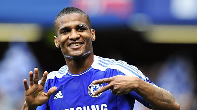 Florent Malouda of Chelsea