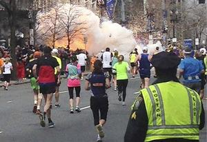 2013 Boston Marathon explosion | Photo Credits: Stringer/Reuters/Landov