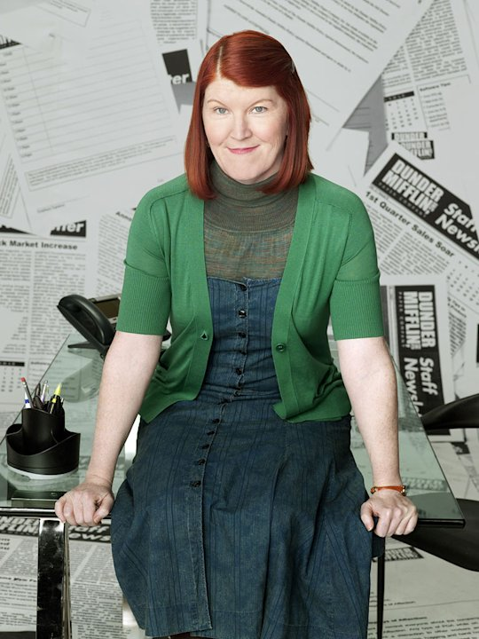 "Kate Flannery as Meredith Palmer in ""The Office."""