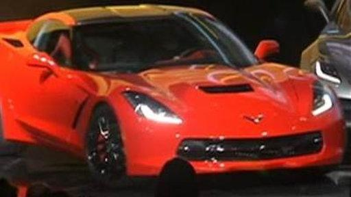 Corvette Stingray Unveiled