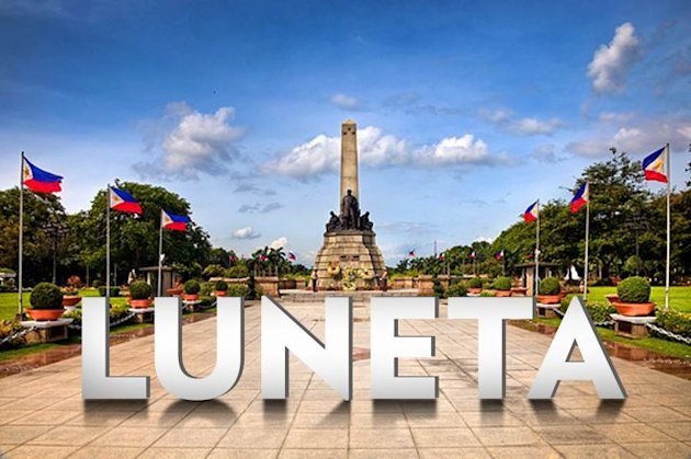 Luneta, a famous tourist spot in the Philippine capital, offers a