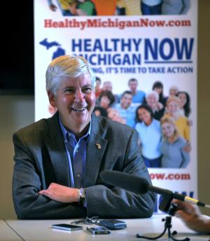 Mich. governor starting 3rd trade trip to Asia