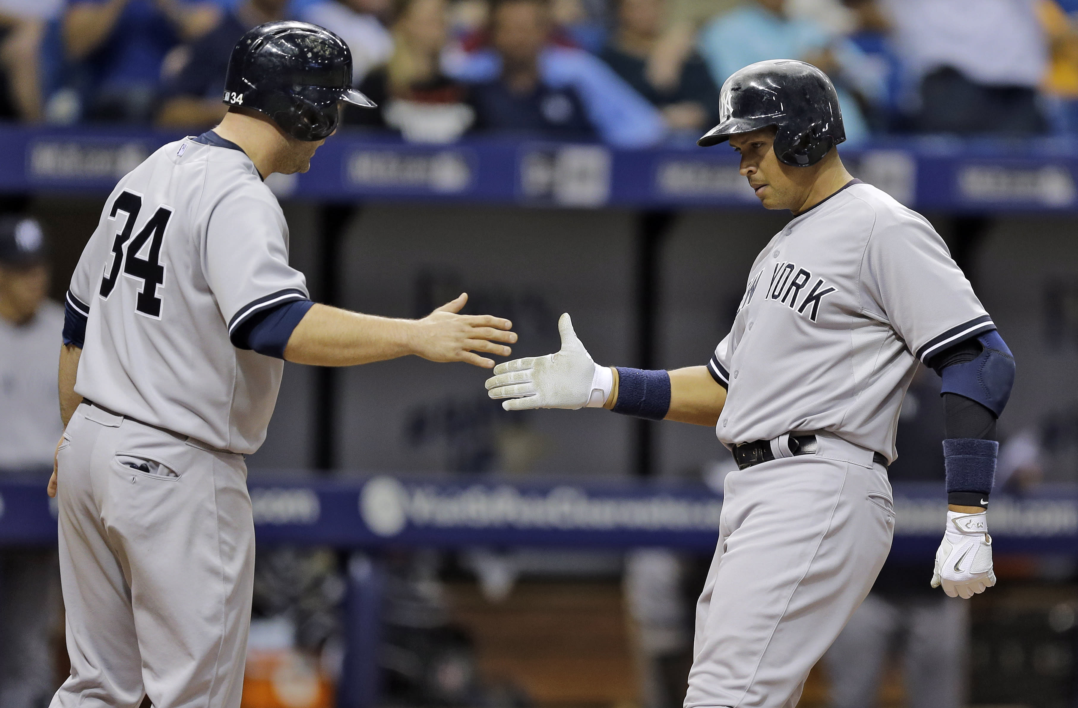Rodriguez powers Yankees to 5-4 win over Rays