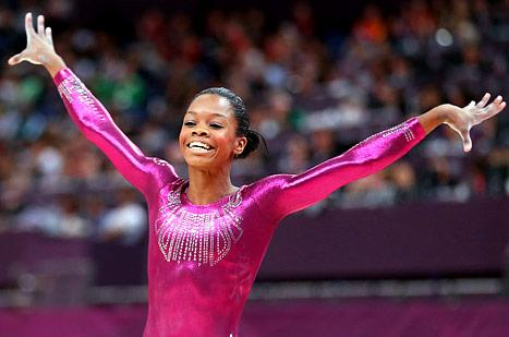 Gabby Douglas Wins Gold in Women's All-Around Olympic Gymnastics