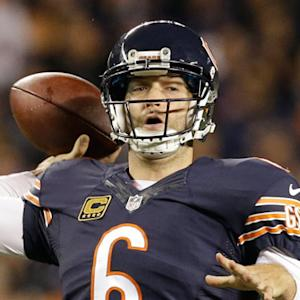 What do the Chicago Bears do with quarterback Jay Cutler?