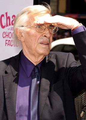 Martin Landau at the LA premiere of Warner Bros. Pictures' Charlie and the Chocolate Factory