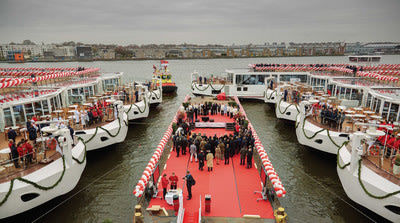 Viking Cruises christens nine of its award-winning Viking Longships in Amsterdam as part of a multi-phase event. In 24 hours, the company christened 16 of its award-winning Viking Longships – setting a GUINNESS WORLD RECORD – including four in Rostock, Germany; and three in Avignon, France. In total, Viking Cruises will christen a total of 18 ships in four countries over five days. For more information, visit www.vikingcruises.com.