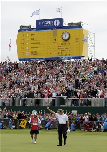 An epic collapse, a British Open for the ages