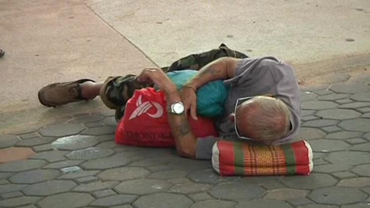 Western homeless population up in Thailand