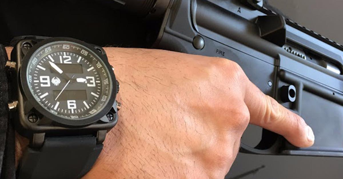 Tactical Watch with LIFETIME Warranty!