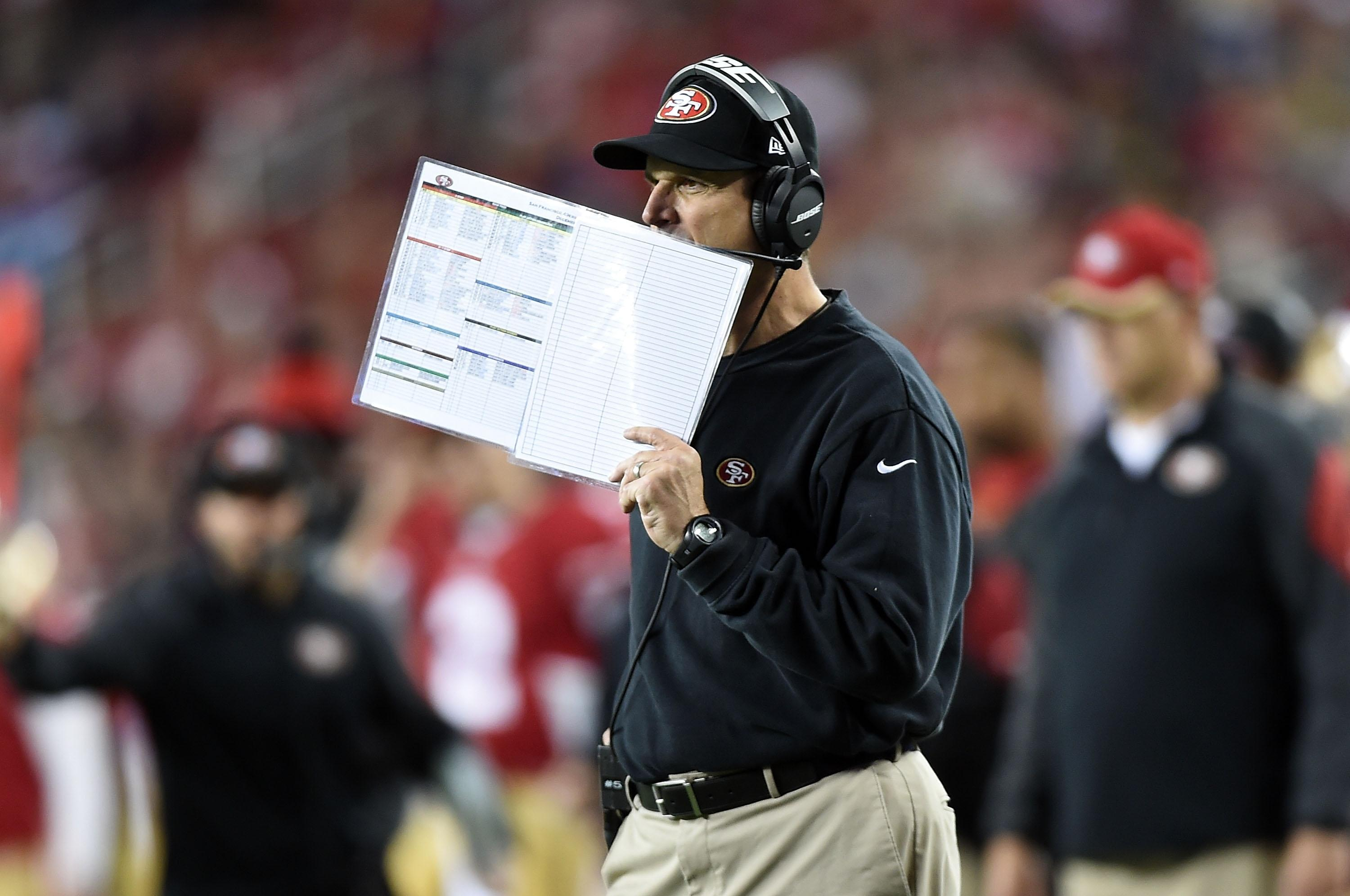 Michigan ticket prices soar in hopes of Jim Harbaugh sighting