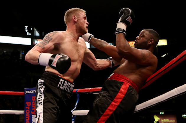 Andrew Flintoff v Richard Dawson - Special Attraction International Heavyweight Contest
