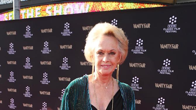 Actress Tippi Hedren at the 2013 TCM Classic Film Festival's Opening Night Gala at the TCL Chinese Theatre on Thursday, April 25, 2013 in Los Angeles. (Photo by Alexandra Wyman/Invision/AP)
