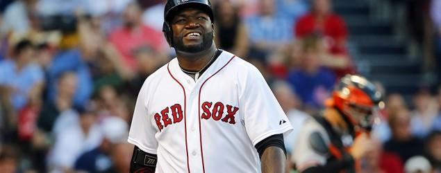 Nearly 10 years later, Ortiz is starting at first base