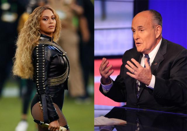 "Rudy Giuliani Calls Beyonce's ""Formation"" Super Bowl Performance An ""Attack"" On Police"