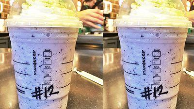 Starbucks Slings Blue-and-Green Seahawk Frappuccinos Because Sports