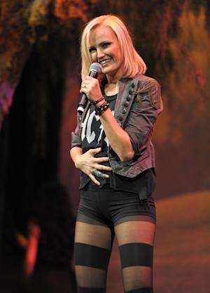 IMAGE DISTRIBUTED FOR  ENVIRONMENTAL MEDIA ASSOCIATION -  Malin Akerman performs at the 22nd Annual Environmental Media Awards on Saturday Sept. 29, 2012, at Warner Bros. Studios in Burbank, Calif. (Photo by John Shearer/Invision for Environmental Media Association/AP Images)
