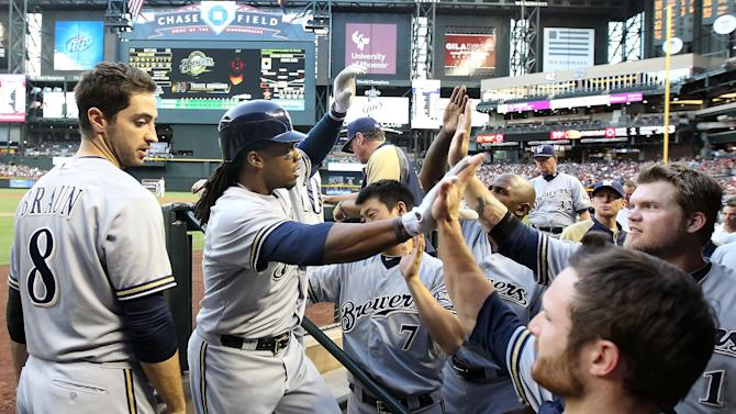 Milwaukee Brewers v Arizona Diamondbacks