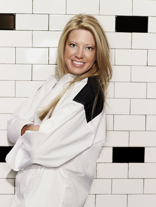 "Carrie Keep (Dallas, TX) is a contestant on the Red Team on the 9th season of ""Hell's Kitchen."""
