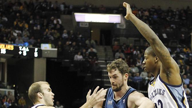 Grizzlies build early lead, top T-wolves 109-92
