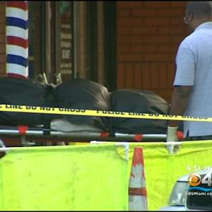 Miami Police Investigate Officer Involved Shooting