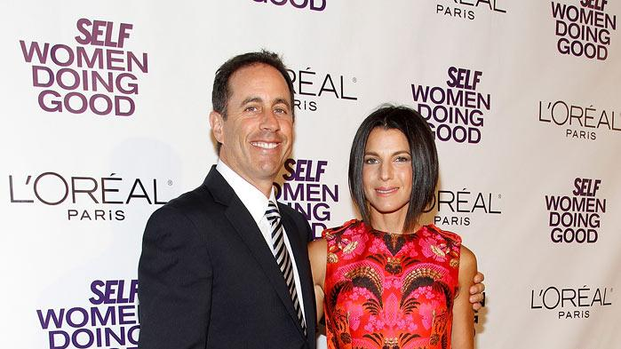 Jerry Jessica Seinfeld Self Mag