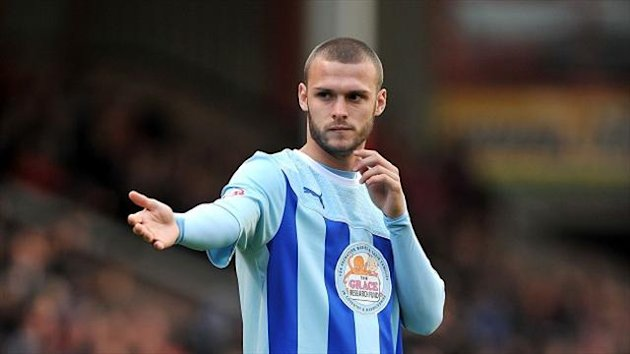Coventry midfielder Billy Daniels (PA Sport)