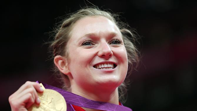 Trampolinist Rosie MacLennan wins Canada lone gold medal at the London Olympics