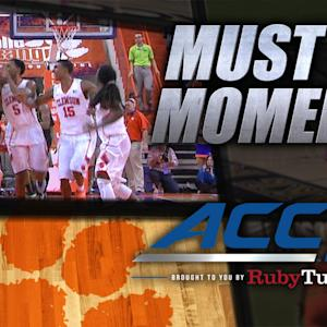Clemson's Josh Smith Hits Game Winner in Final Second | ACC Must See Moment
