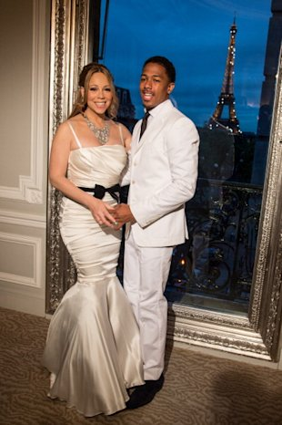 Renovacion votos matrimoniales Mariah Carey y Nick Cannon /WireImage