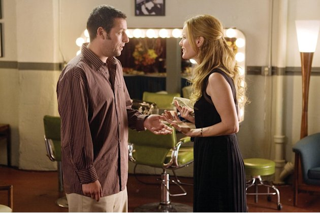 Adam Sandler Leslie Mann Funny People Production Stills Paramount 2009
