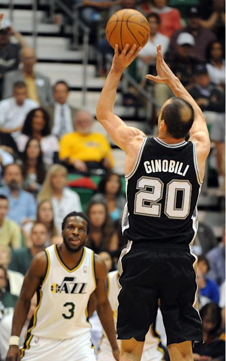 San Antonio Spurs v Utah Jazz - Game Four