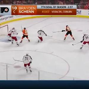 Sergei Bobrovsky Save on Wayne Simmonds (03:13/1st)