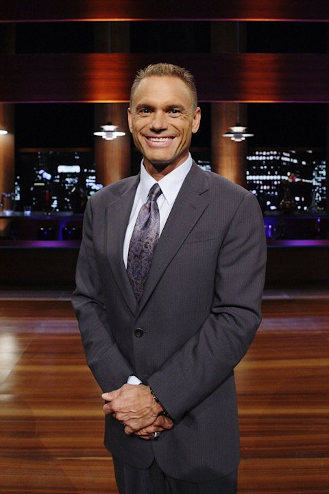"Kevin Harrington (king of infomercials), in ""Shark Tank."""